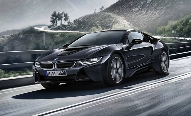 2017 BMW i8 Protonic Dark Silver Special Edition