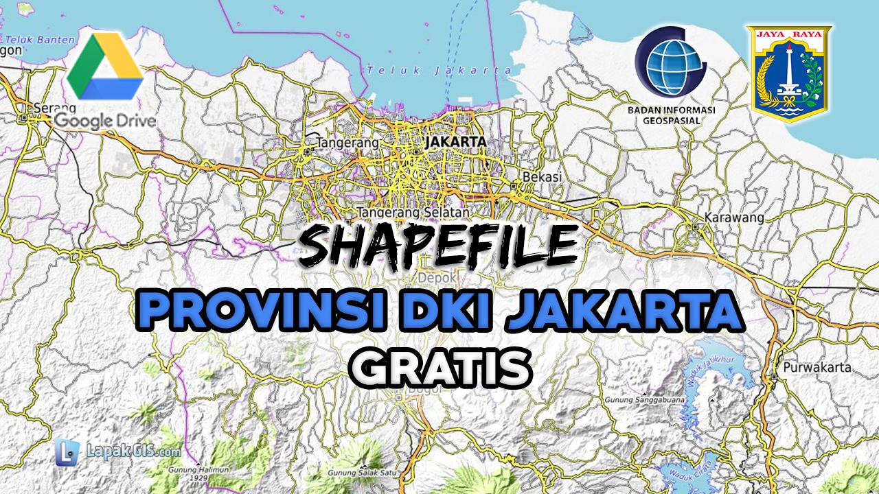 Shapefile Provinsi DKI Jakarta Terbaru