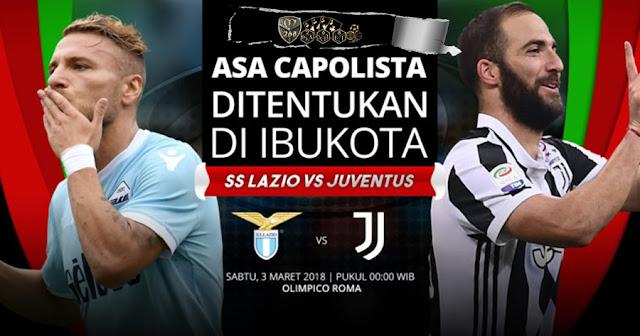Prediksi Lazio Vs Juventus, Minggu 04 Maret 2018 Pukul 00.00 WIB