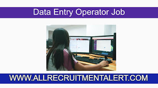Data Entry Operator Job in West Bengal 2021