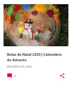 bola de Natal com um boneco de neve dentro