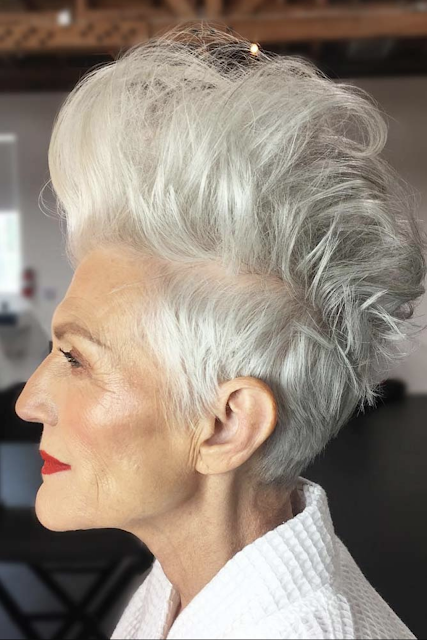 short hairstyles for over 50 fine hair 2019 2020