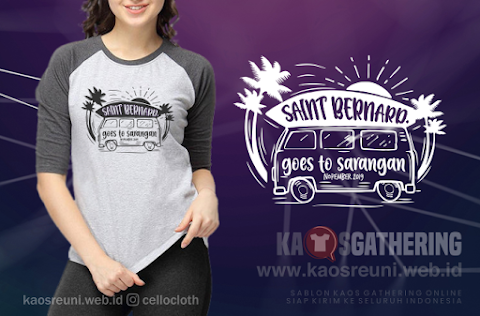 Sablon Kaos Gathering Saint Bernard Goes To Sarangan November 2019