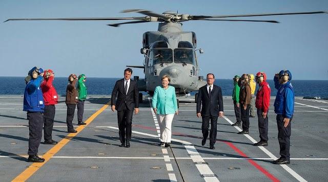 Berliner Zeitung: «Ένα πλοίο, τρεις καπετάνιοι»