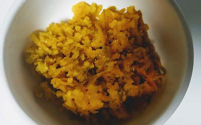 Grated orange skin for orange rasgulla recipe