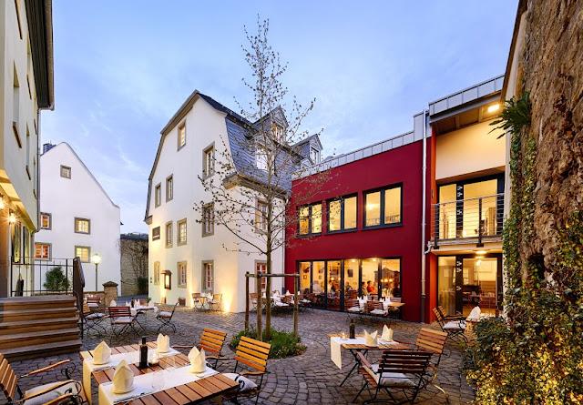 Das Hotel und Restaurant Meisenheimer Hof.