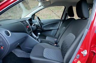 Ghế và volang Suzuki Celerio