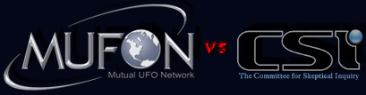 Will MUFON and CSI take the UFO Best Evidence Challenge