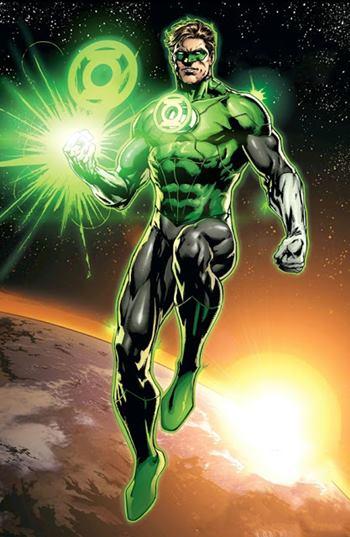 Hal Jordan es un superhéroe de DC, Green Lantern y miembro de la Justice League