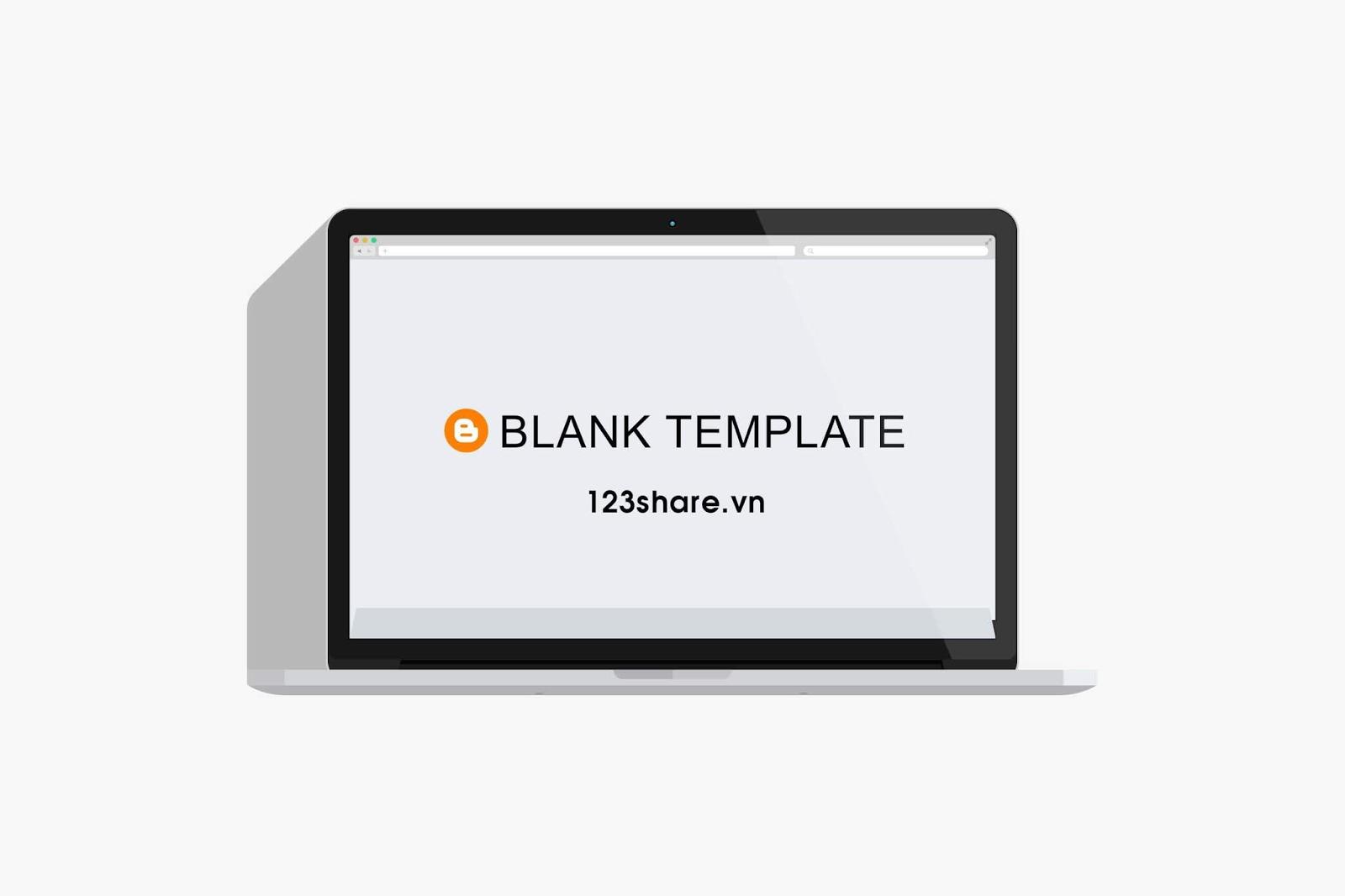 Share template gốc blogspot chuẩn dành cho thiết kế và rip