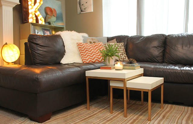 Diy ikea hack nesting tables oh so lovely blog and heres the larger nesting table that we use as an end table watchthetrailerfo