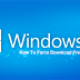 How to Force Download Windows 10 Free Upgrade, Tutorial