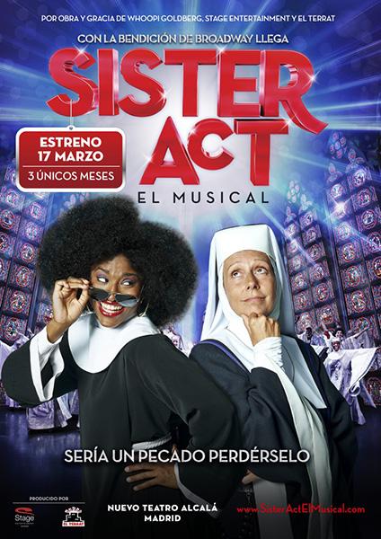 El musical Sister Act llega a Madrid el próximo 17 de marzo