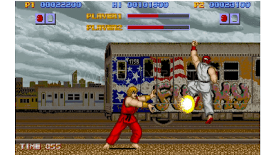 street fighter game masa kecil