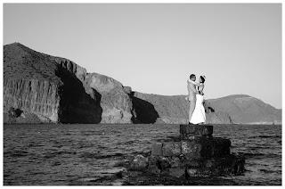 Foto de boda - Acantilado - las Negra - Almería