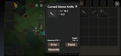The Wild Darkness Crafting Cursed Stone Knife