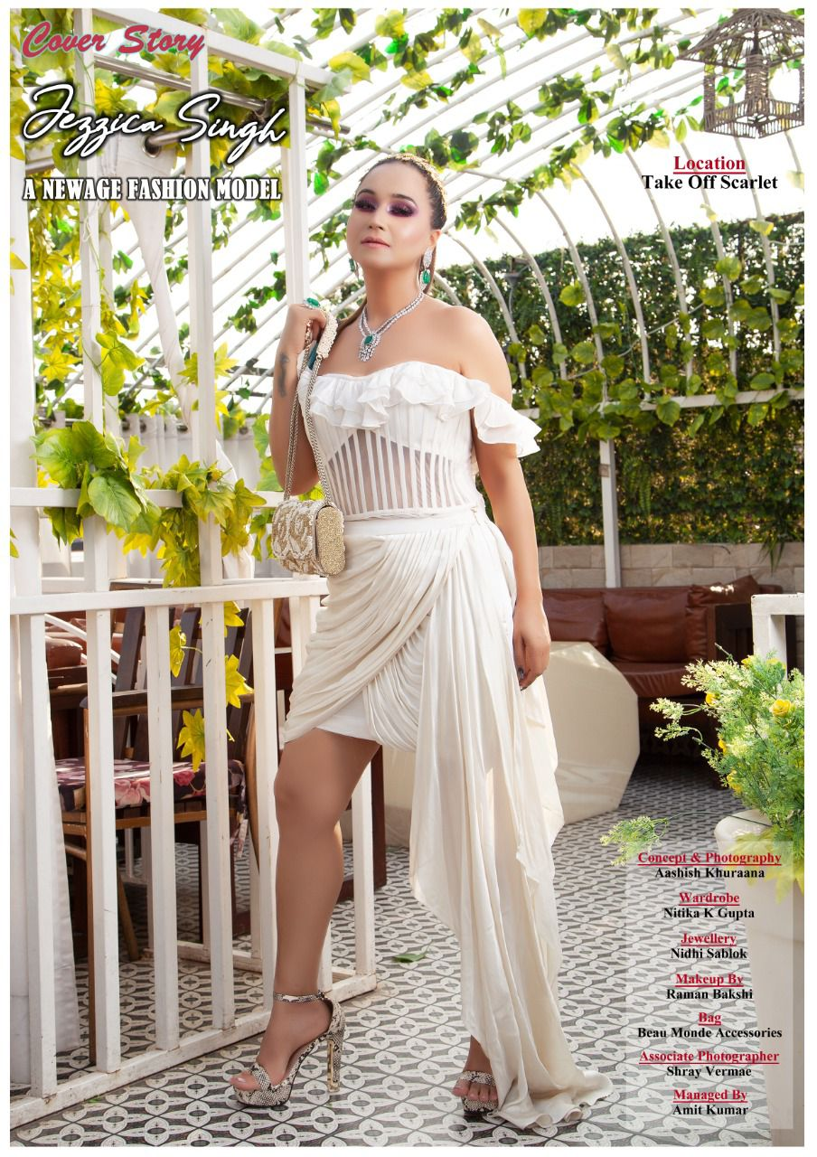 Jezzica Singh was spotted on Lafiesta Cover Page and few fashion weeks