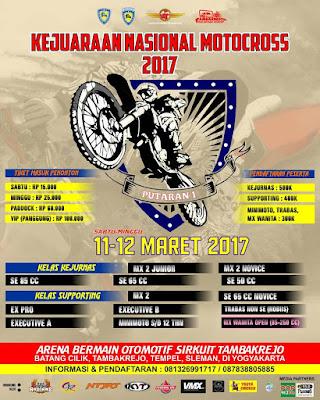 kejurnas motocross 2017 jogja