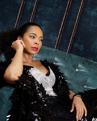 #BBNaija star TBoss in glam shoot