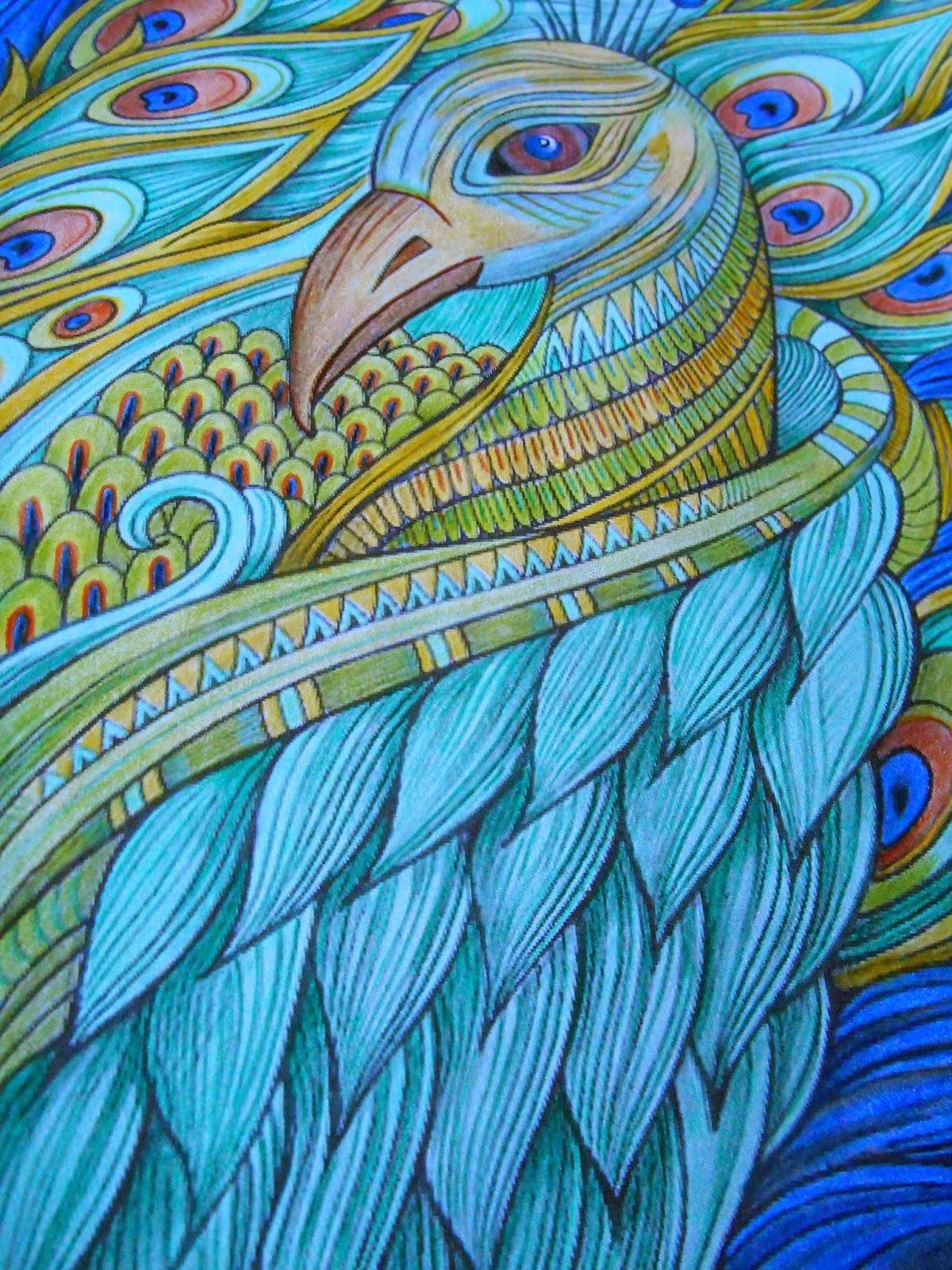 Mandala Kleurplaten Pauw.Kleurvitality Nessy S Artwork Wat Een Pauw