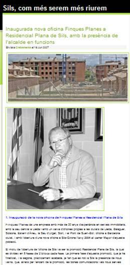 https://silsdelaselva.wordpress.com/2008/01/01/inaugurada-nova-oficina-finques-planes-a-residencial-plana-de-sils-amb-la-presencia-de-lalcalde-en-funcions/