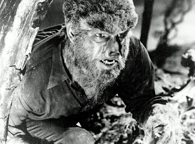The Wolf Man 1941 movie still Lon Chaney Jr