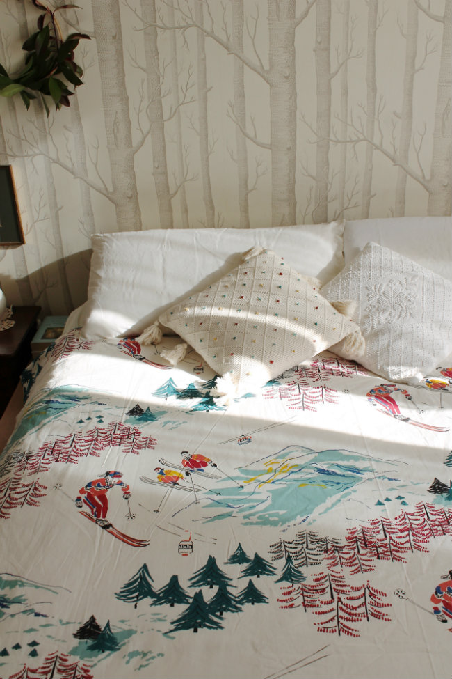 Copripiumino La Redoute, Cuscino Con Nappe Maison Du Monde, Tappezzeria  Woods By Cole U0026 Son