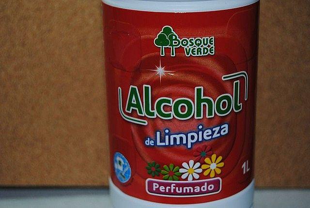 Usos del alcohol de limpieza