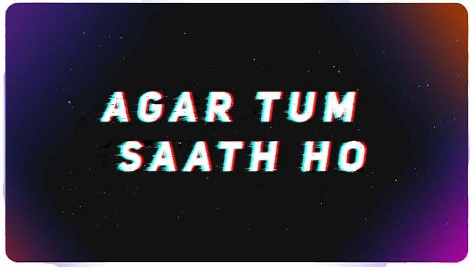 Agar Tum Saath Ho x Can We Kiss Forever Ringtone