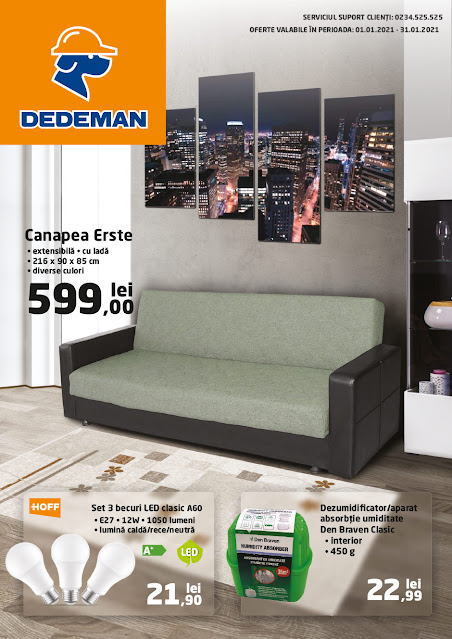 DEDEMAN Catalog - Brosura 1-31.01 2021→ ONLINE SHOPPING