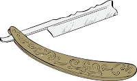 Символ Криттики (острый инструмент, похожий на бритву)