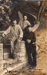 biarritz autrefois blesses