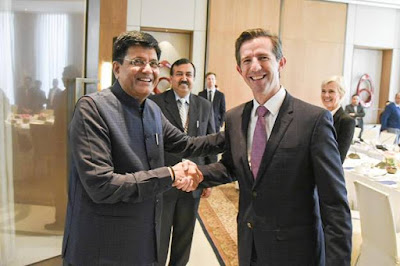 16th Session of the Joint Ministerial Commission between India and Australia held in New Delhi