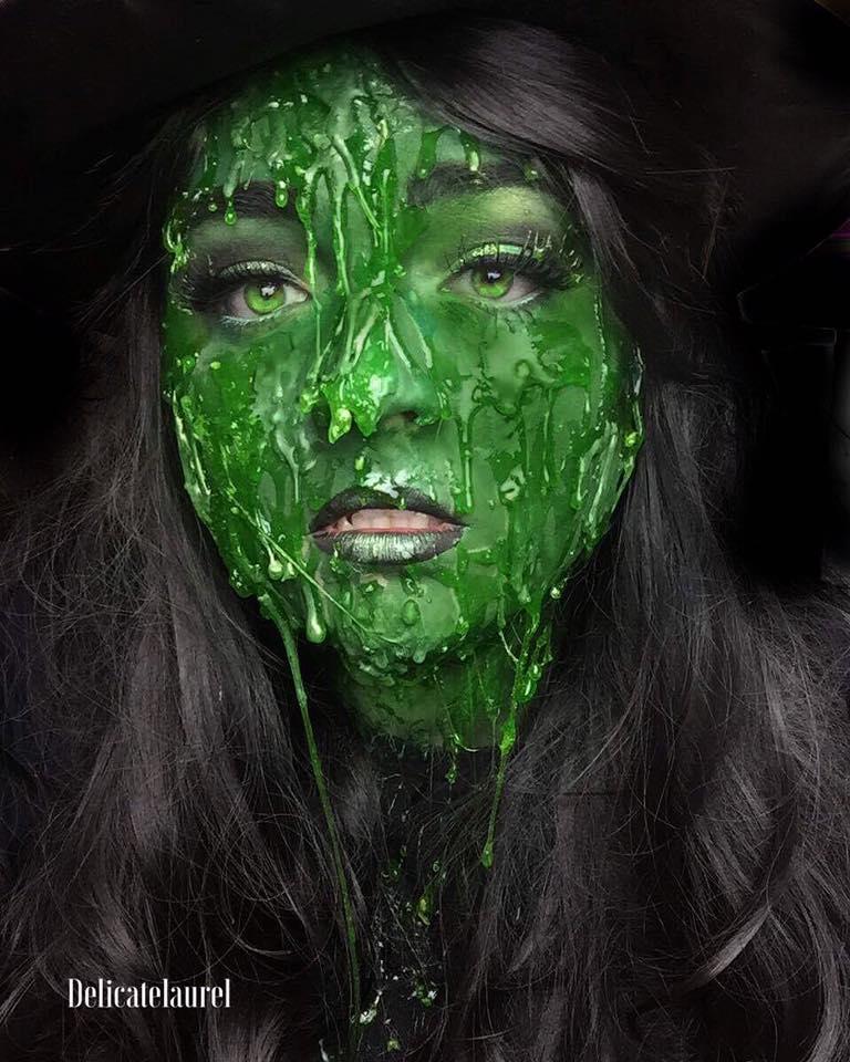 Cover Scab With Makeup: DelicateLaurel: Halloween Makeup Looks Week One Recap