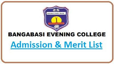 Bangabasi Evening College Merit List