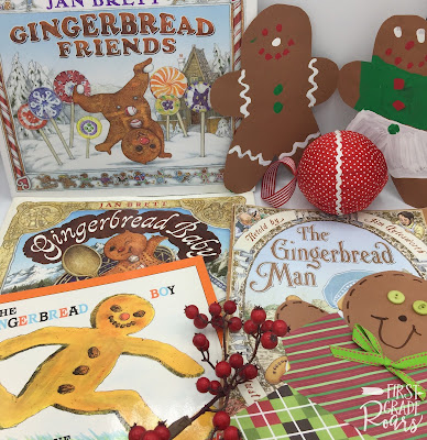 A Week Filled with Gingerbread - First Grade Roars!