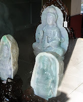 Buying Jade Sculptures in Yangon Myanmar