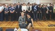 Maczik Erika polgármester asszony megköszönte a szociális területen dolgozók munkáját
