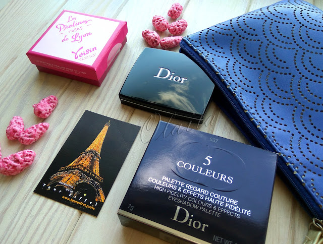 Dior eye shadow palette 537 Touch