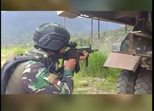 Lagi, Personel TNI Gugur, Prada Ginanjar Tertembak di Perut saat Kontak Senjata KKB dan TNI