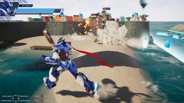 Override 2: Super Mech League para playstation 4