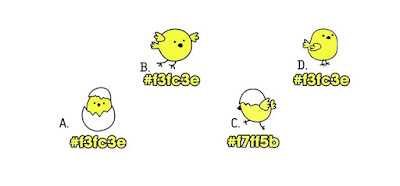 Alt 3 Q 13. Which of these color birds are different from the rest?