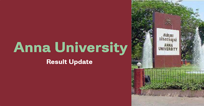 Anna University Results 2021 - M.C.A Exam Result Nov / Dec 2020