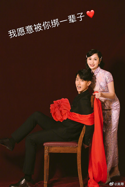 Wu Chun and Wife Lin Liyin Successfully Take Wedding Photos in a DIY Photoshoot with Their Kids
