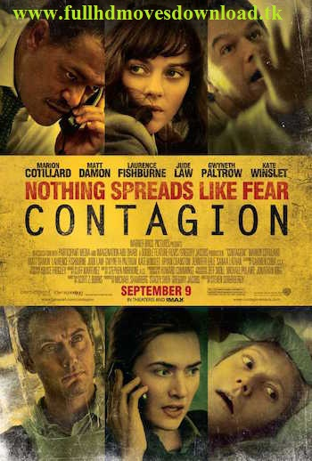 Download Film Baru Contagion 2011 [Hindi-Eng] Dual Audio 300mb BRRip 480p Free Download