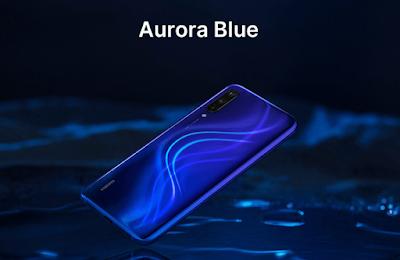 mi 9 lite -we-tech -mobile  blue