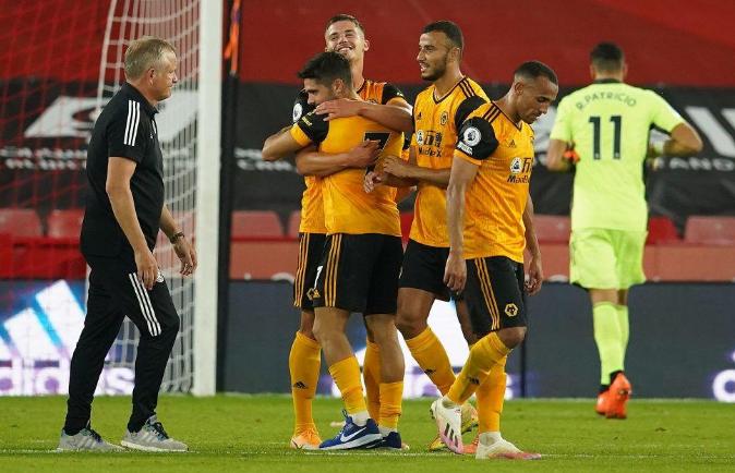 المغربي رومان سايس يقود وولفرهامبتون لفوز ثمين بملعب شيفيلد