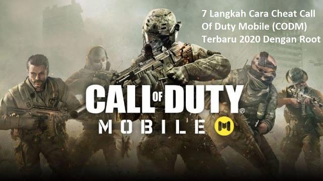 7 Langkah Cara Cheat Call Of Duty Mobile (CODM) Terbaru 2020 Dengan Root