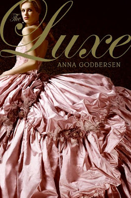 The Luxe by Anna Godbersen book cover