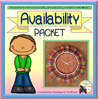 Availability Character Education - Social Skills Teaching Packet